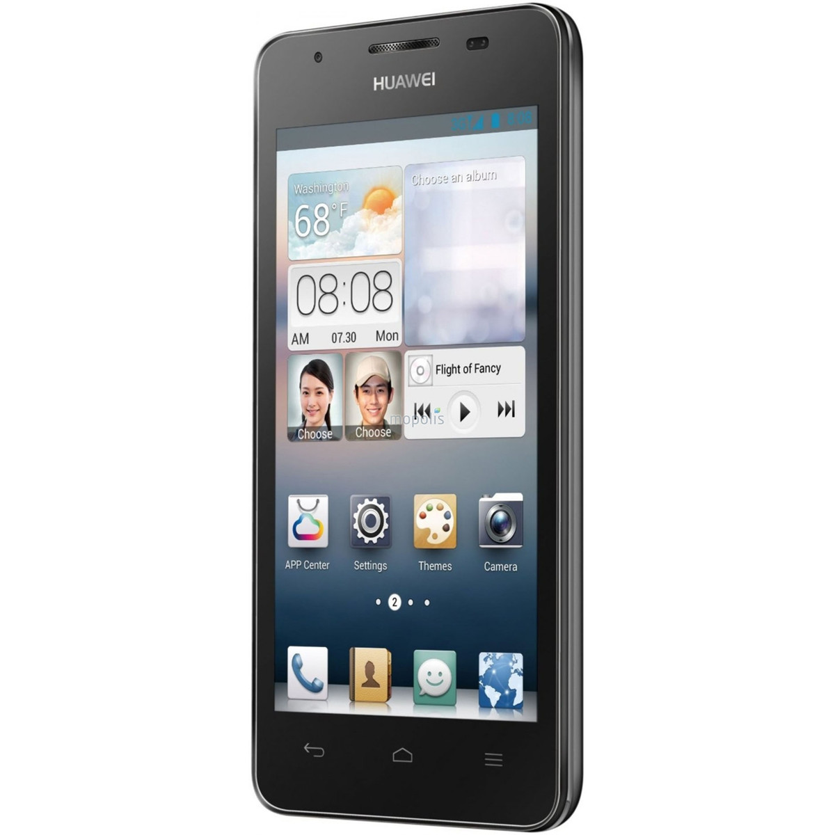 new huawei ascend g510 unlocked gsm android cell phone black ebay. Black Bedroom Furniture Sets. Home Design Ideas