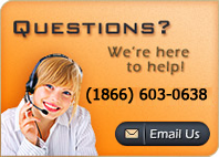 Questions? We're here to help (1866)-603-0638 or click here to email us