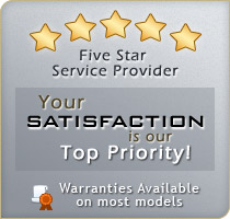 Proud to be a 5 star service provider