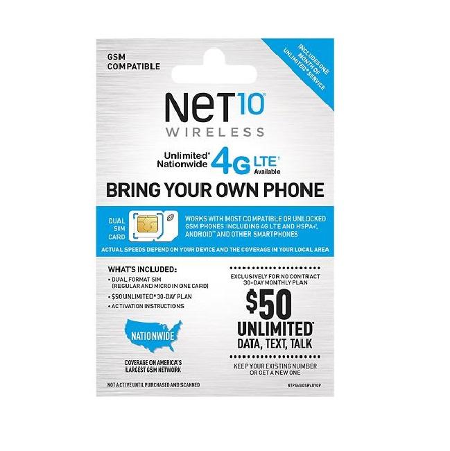 Bring Your Own Phone SIM KitStraightTalk