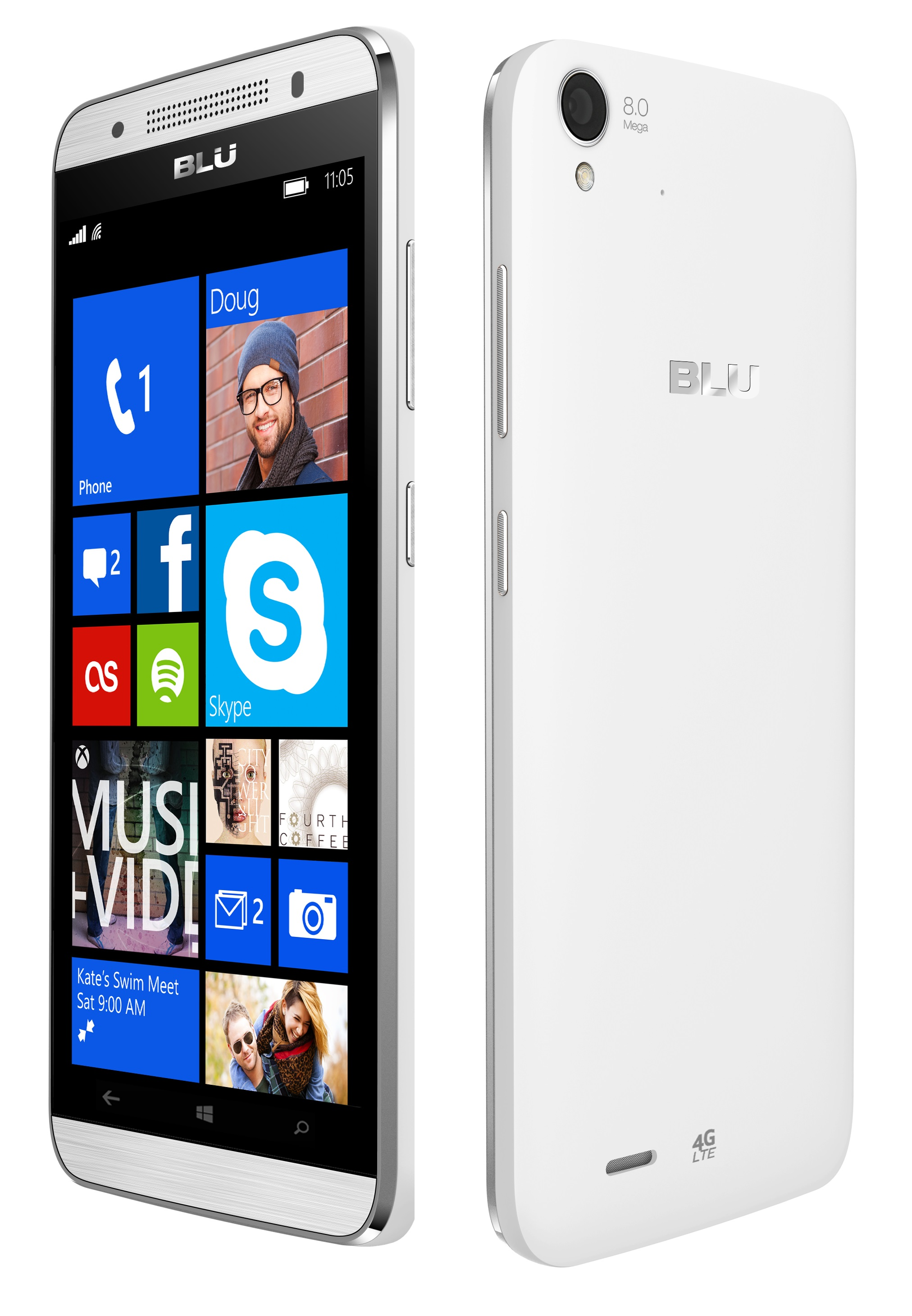 New blu win hd lte 5 0 x150q unlocked gsm 4g lte dual sim for Window 4g phone
