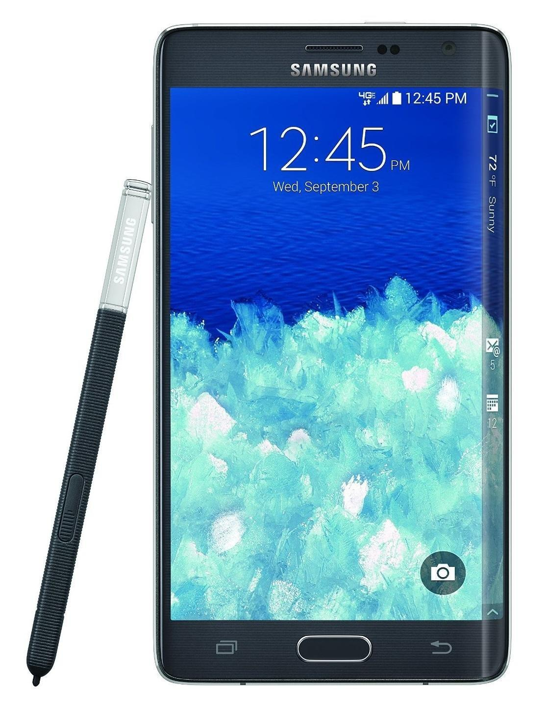 samsung galaxy note edge n915v 32gb verizon unlocked gsm. Black Bedroom Furniture Sets. Home Design Ideas
