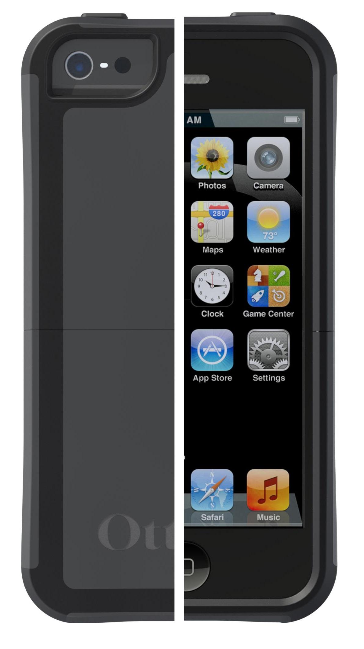 otterbox defender case belt holster for apple iphone 5. Black Bedroom Furniture Sets. Home Design Ideas