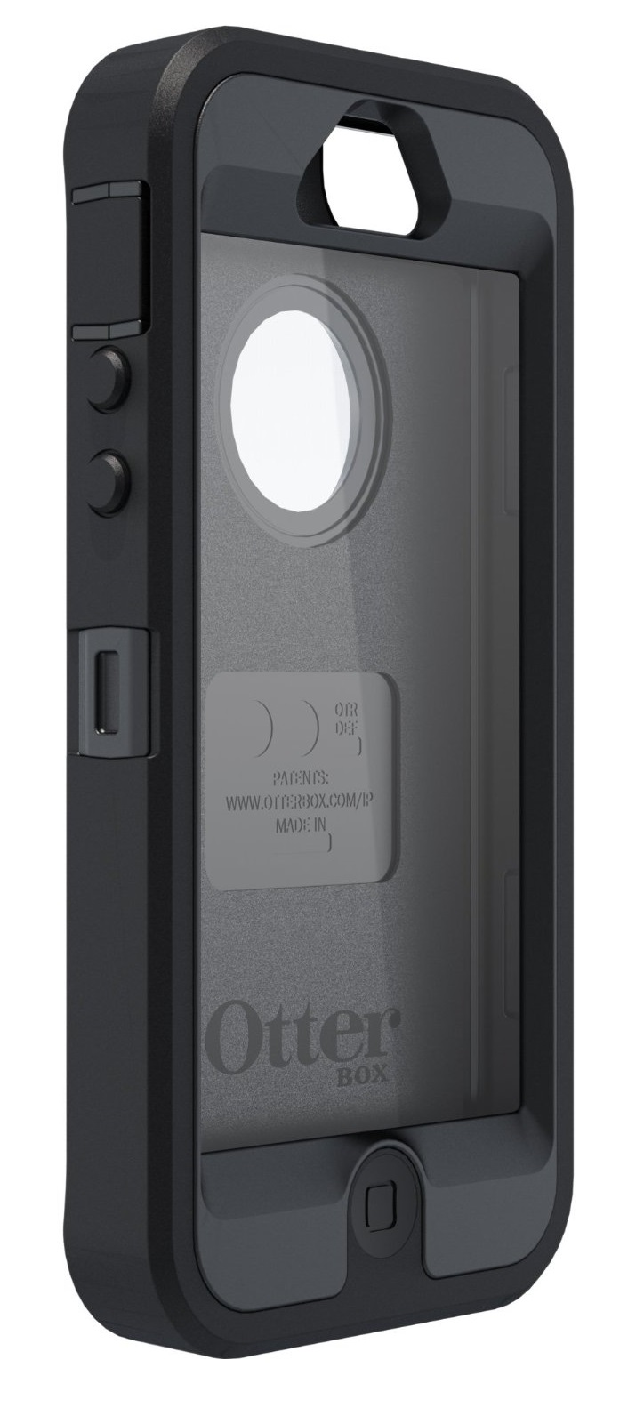 ... OtterBox Defender Case + Belt Holster for Apple iPhone 5, 5s and SE
